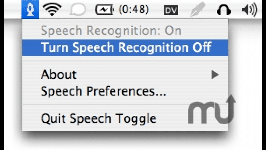 Speech Toggle for Mac - review, screenshots