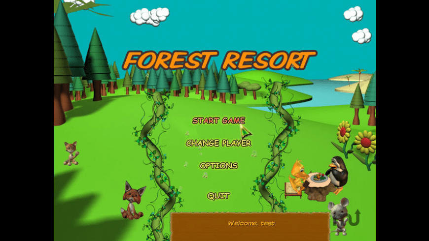 Forest Resort for Mac - review, screenshots
