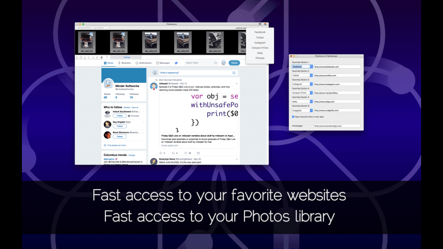Photonium for Mac - review, screenshots