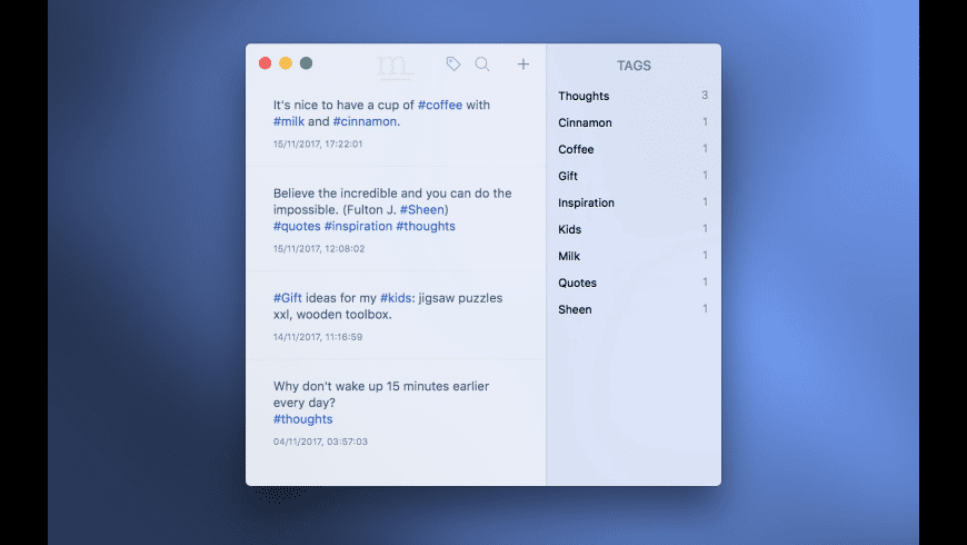 Monologue for Mac - review, screenshots