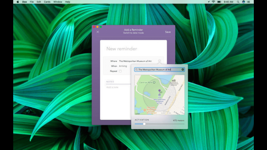 Doo for Mac - review, screenshots