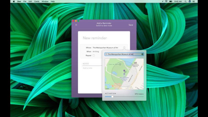 Doo for Mac - review, screenshots