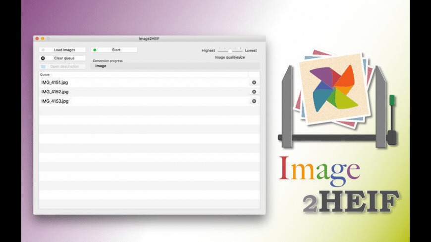 Image2HEIF for Mac - review, screenshots