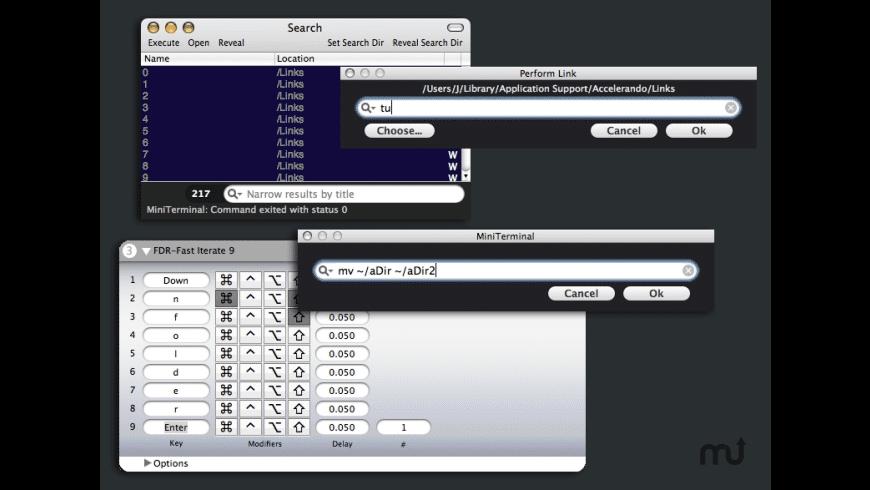 Accelerando for Mac - review, screenshots