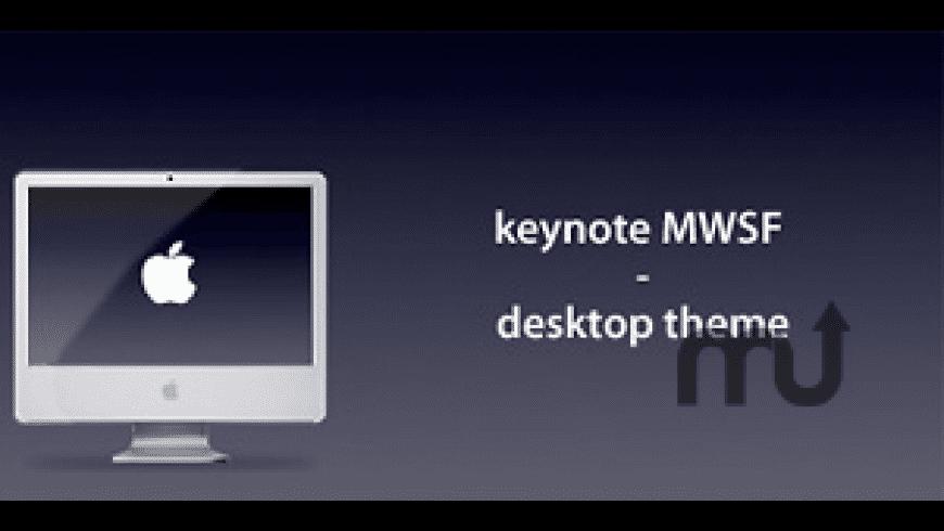 Keynote MWSF - Desktop Theme for Mac - review, screenshots
