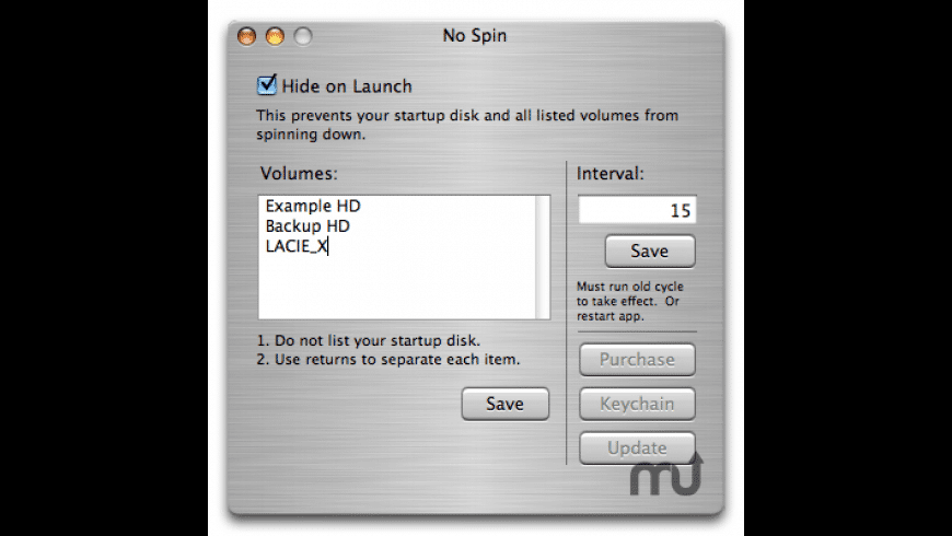 No Spin for Mac - review, screenshots