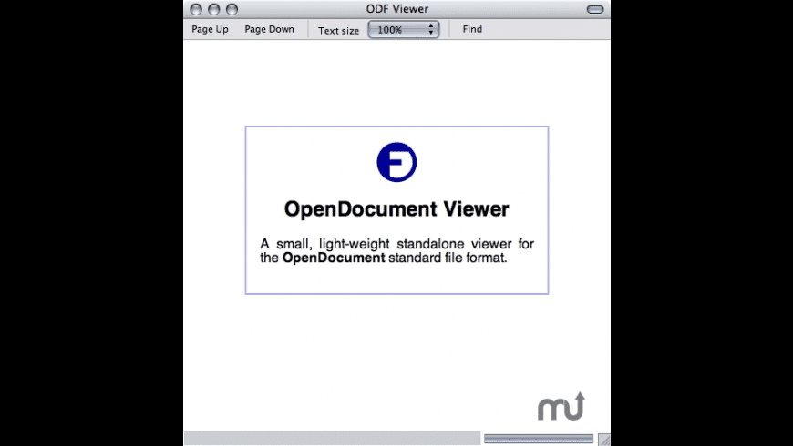 OpenDocument Viewer for Mac - review, screenshots