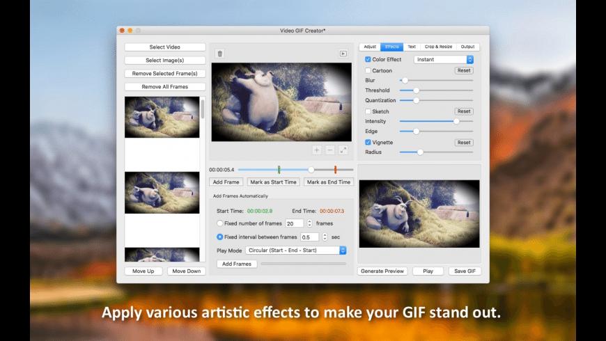 Video GIF Creator for Mac - review, screenshots