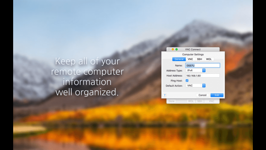 VNC Connect for Mac - review, screenshots
