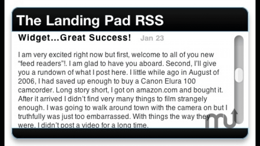 The Landing Pad RSS for Mac - review, screenshots