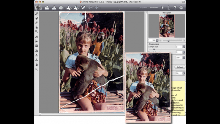 AKVIS Retoucher for Mac - review, screenshots