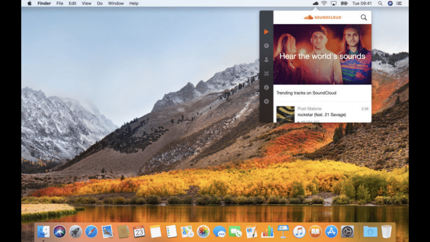 Stratus for SoundCloud for Mac - review, screenshots