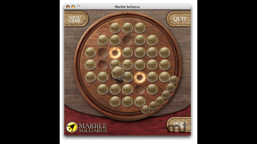 Marble Solitarus for Mac - review, screenshots