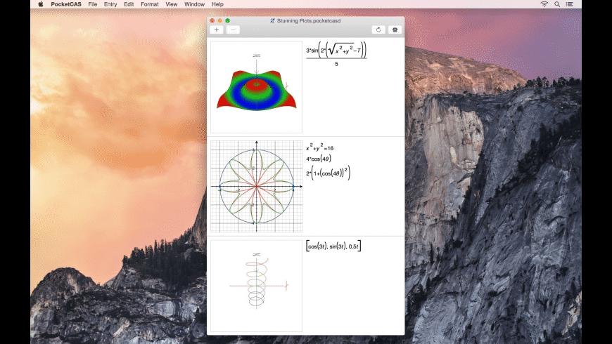 PocketCAS for Mac - review, screenshots