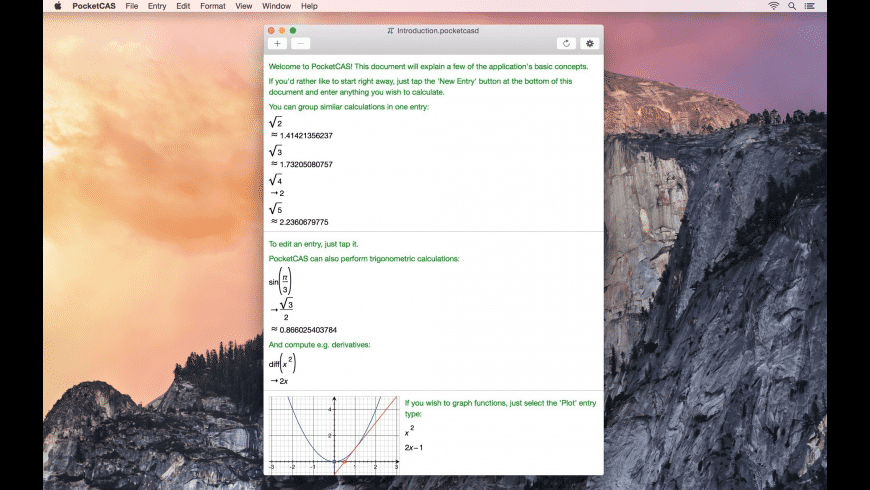 PocketCAS for Mac - review, screenshots