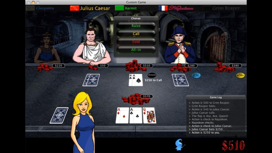Imagine Poker for Mac - review, screenshots