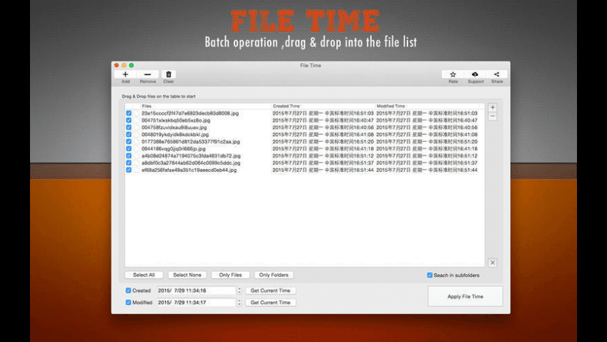 File Time for Mac - review, screenshots