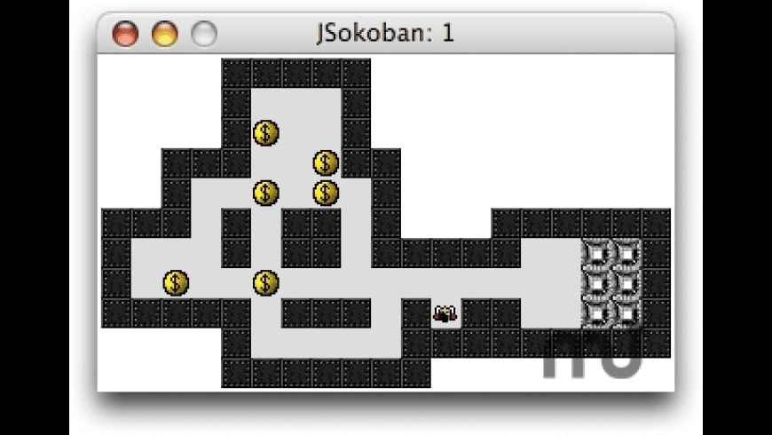 JSokoban for Mac - review, screenshots