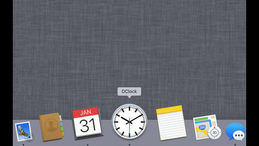 DClock for Mac - review, screenshots