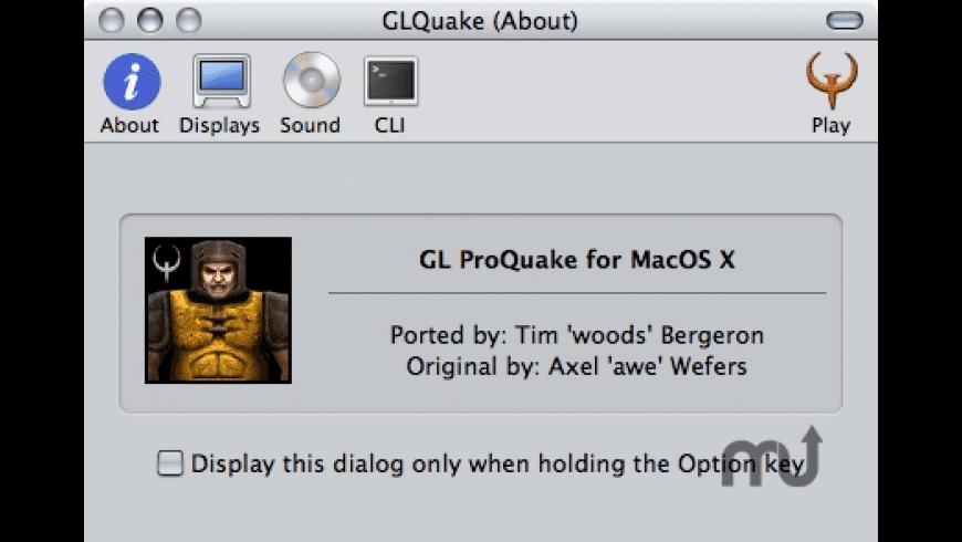 ProQuake for Mac - review, screenshots