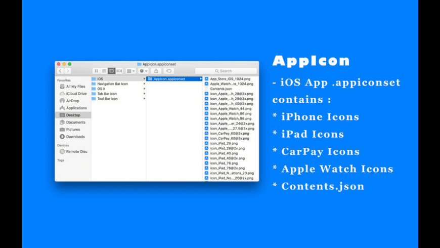 AppIcon for Mac - review, screenshots