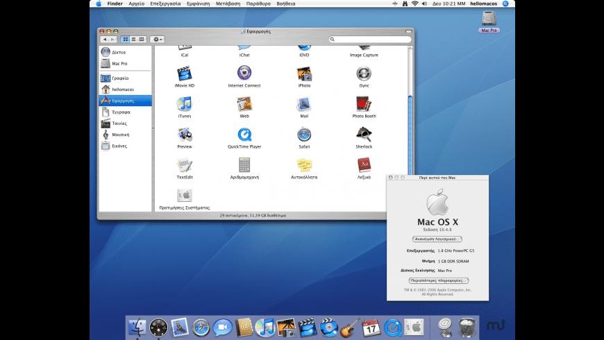 hello Mac OS! for Mac - review, screenshots