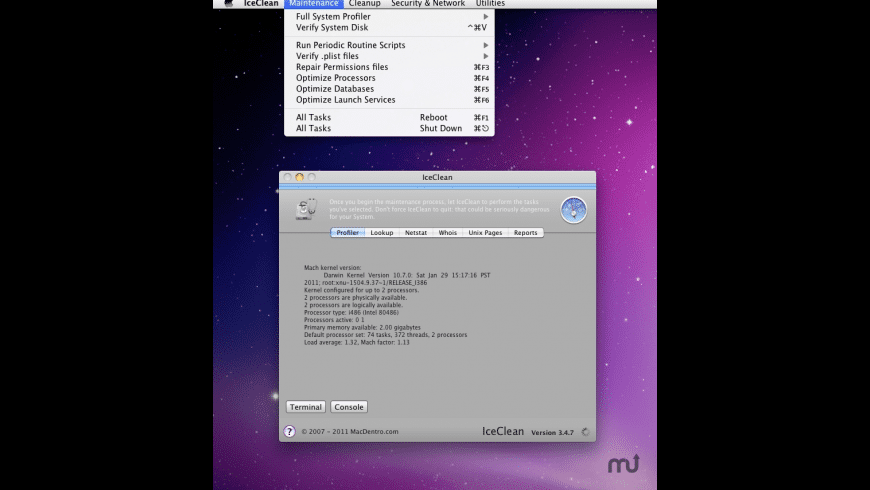 IceClean for Mac - review, screenshots