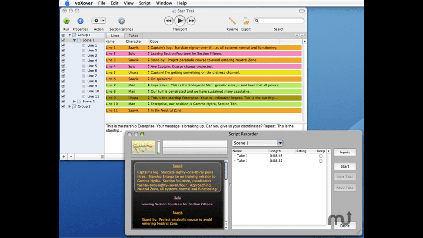 voXover for Mac - review, screenshots