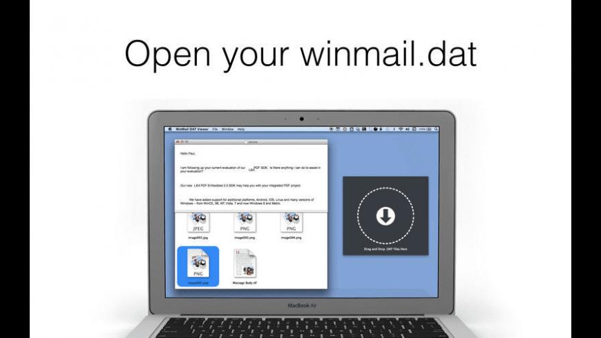 WinMail DAT Viewer Pro for Mac - review, screenshots