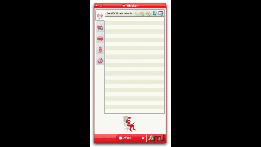 Whisher for Mac - review, screenshots