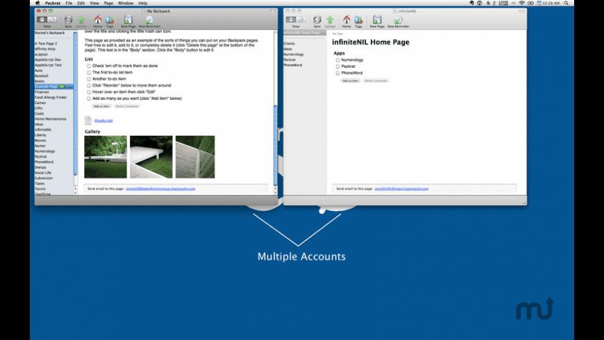 Packrat for Mac - review, screenshots