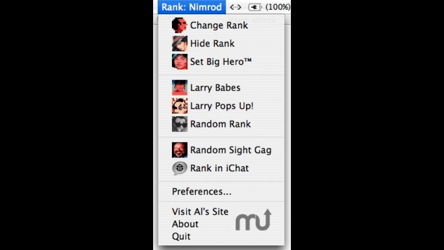 LarryMenu for Mac - review, screenshots