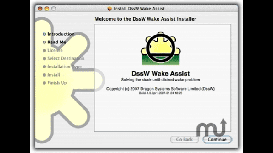 Wake Assist for Mac - review, screenshots