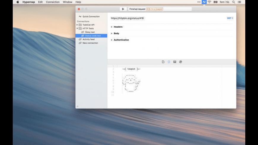 Hypernap for Mac - review, screenshots