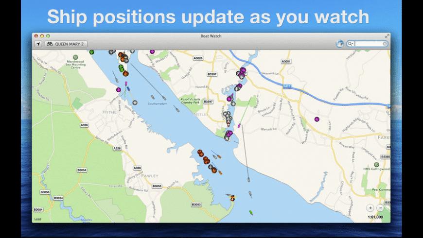 Boat Watch for Mac - review, screenshots
