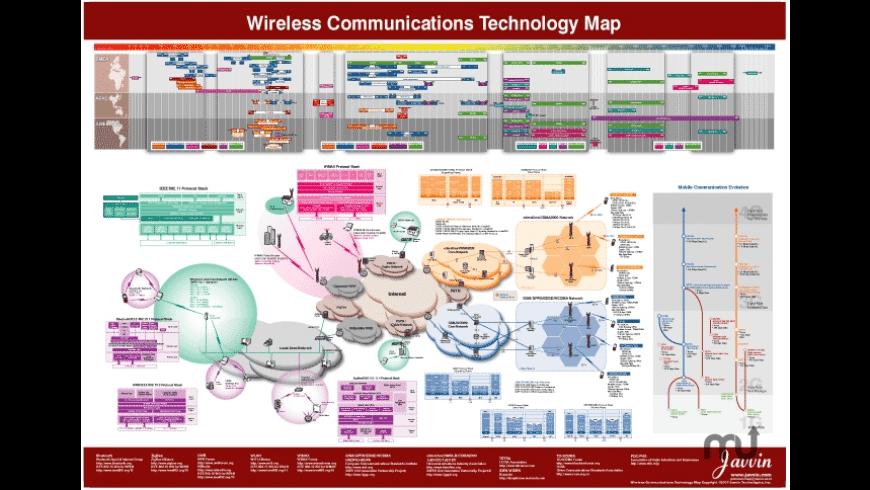Wireless Technology Map for Mac - review, screenshots