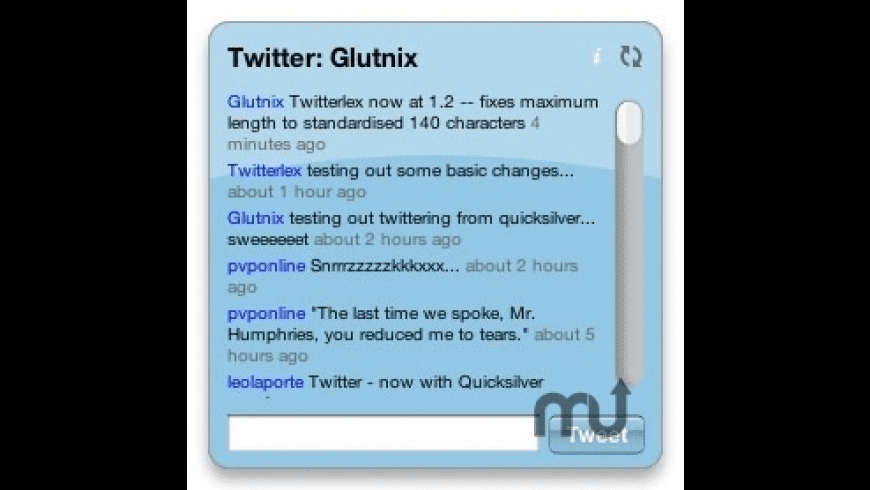 Twitterlex for Mac - review, screenshots