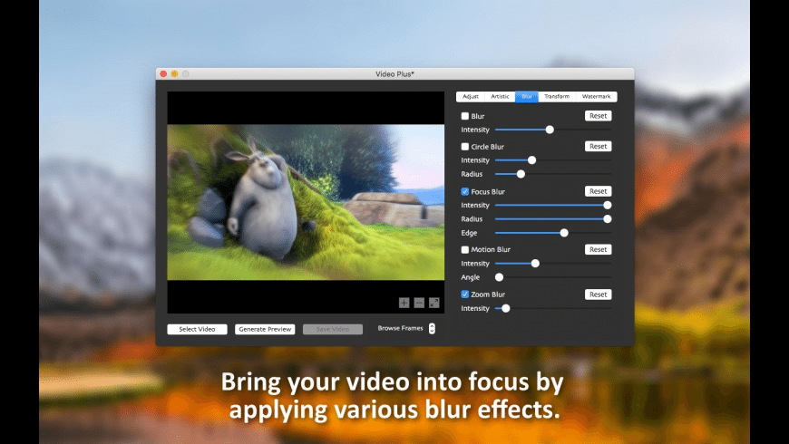 Video Plus for Mac - review, screenshots