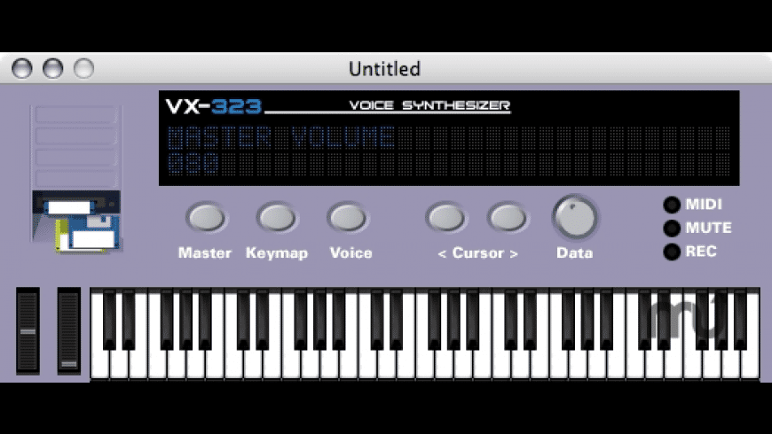VX-323 for Mac - review, screenshots