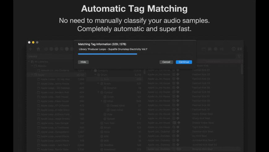 Samplism for Mac - review, screenshots