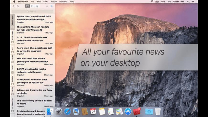 Newsflow for Mac - review, screenshots