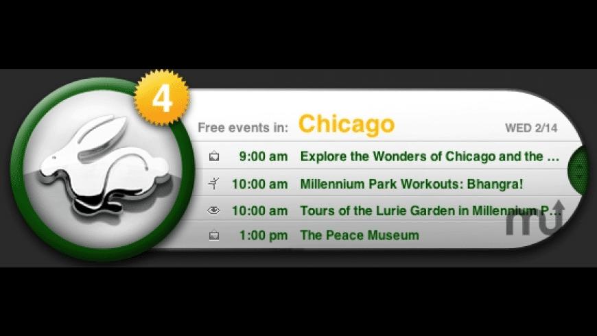 VW Rabbit Widget for Mac - review, screenshots