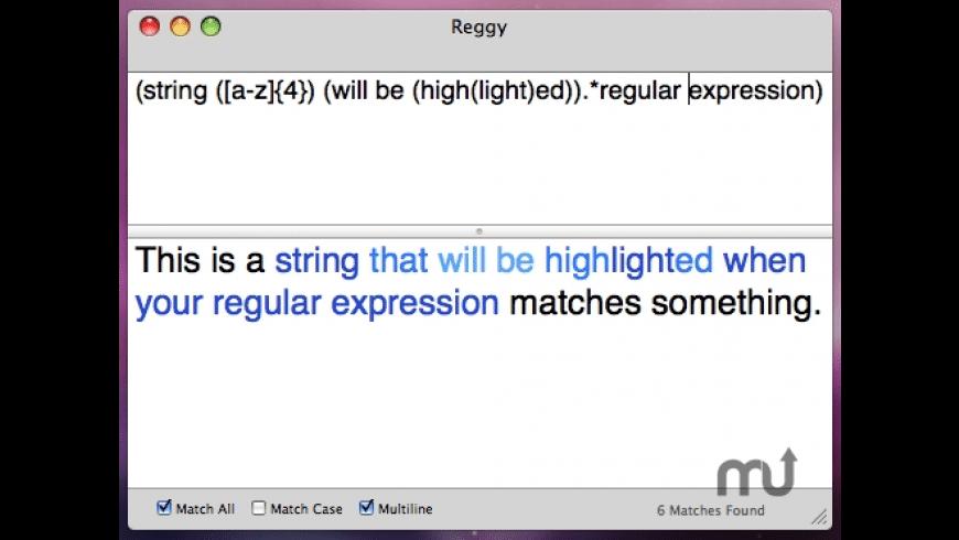 Reggy for Mac - review, screenshots