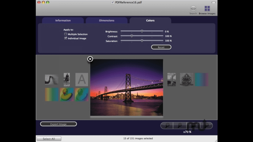 ImageVacuum for Mac - review, screenshots