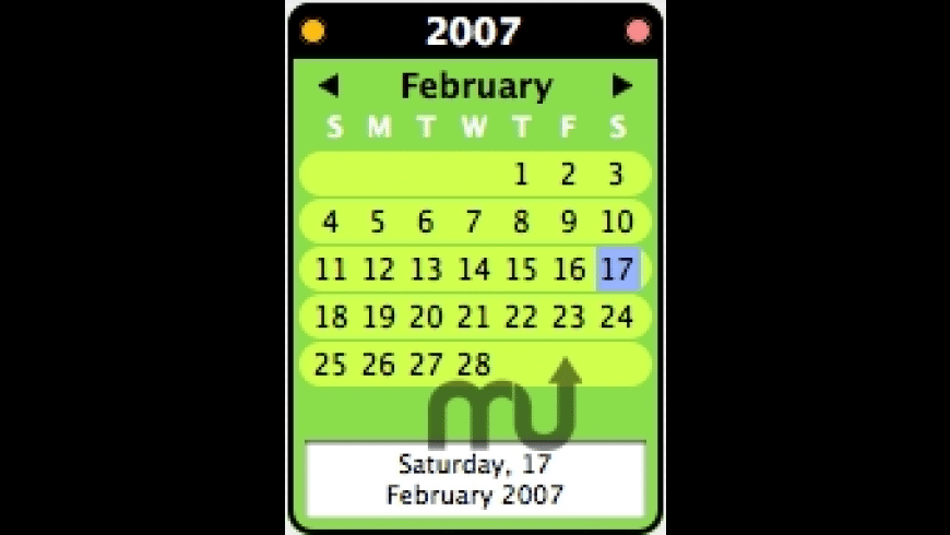 VeeEye Calendar for Mac - review, screenshots