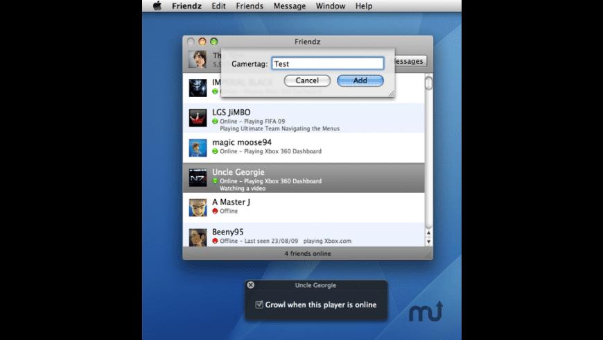 Friendz for Mac - review, screenshots