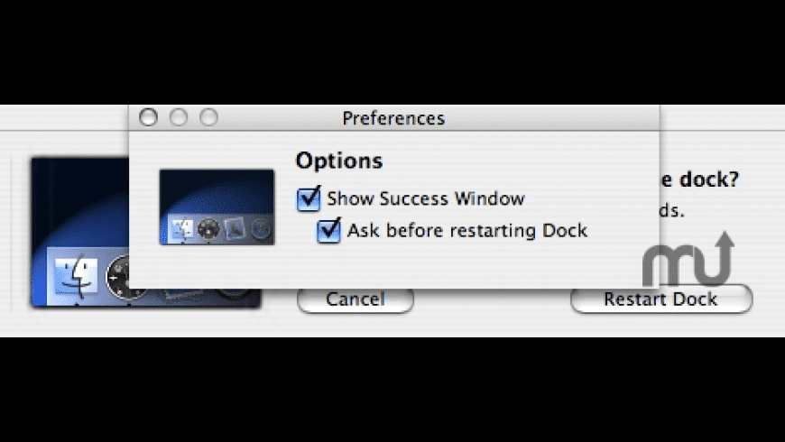 DockReboot for Mac - review, screenshots