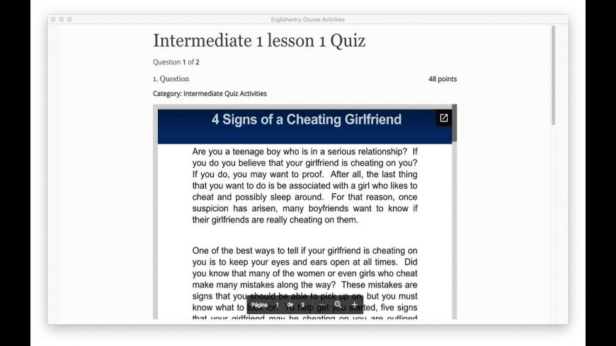 English Intermediate Courses for Mac - review, screenshots