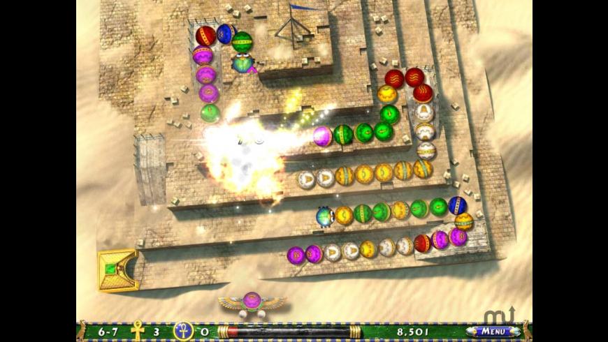Luxor 2 for Mac - review, screenshots