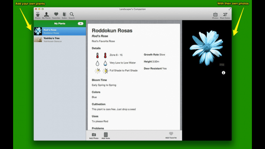 Landscaper's Companion for Mac - review, screenshots